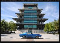 69 shelby boss 302 indy 500 track
